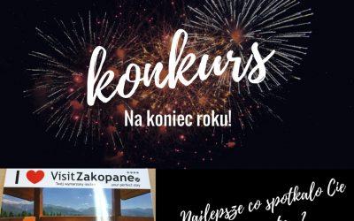 Konkurs z VisitZakopane na koniec roku!