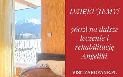Aukcja dla Angeliki Kocik – podopiecznej fundacji Krwinka została zakończona!