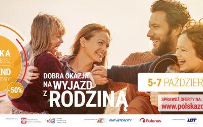 Polska zobacz więcej – weekend za pół ceny!