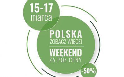 Weekend za pół ceny 15-17.03 z VisitZakopane!