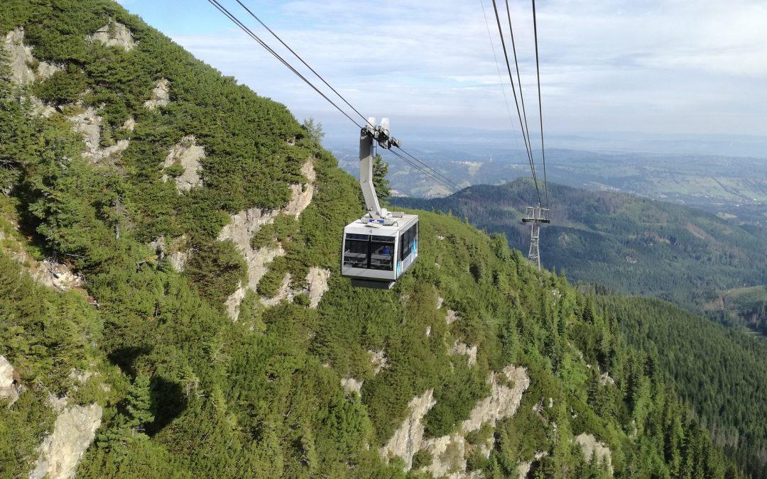 Kolejki linowe w Zakopanem – Gubałówka i Kasprowy Wierch