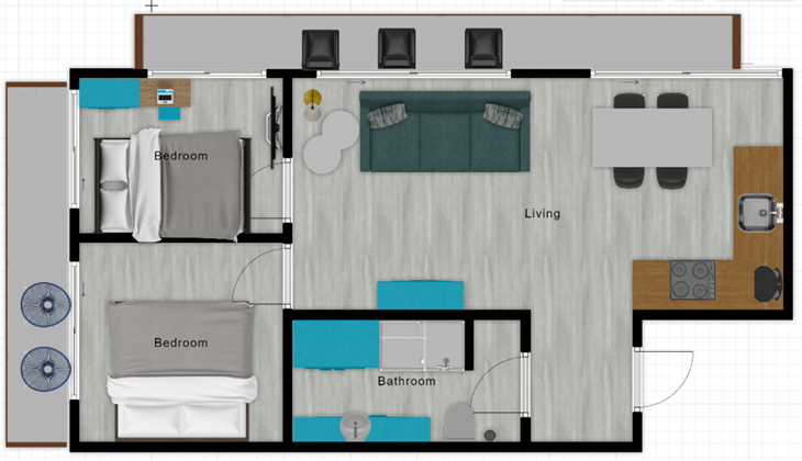 Apartamenty Zakopane - Apartament SZAFIR SPA - Zakopane