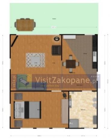Apartamenty Zakopane - Apartament OGRODOWY - Zakopane