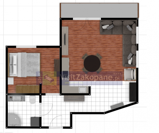 Apartamenty Zakopane - Apartament MALIBU - Zakopane