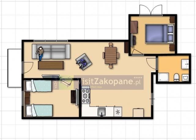 Apartamenty Zakopane - Apartament DUBAJ - Zakopane